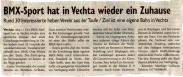 Zeitungsausschnit Oldenburgische Volkszeitung vom 16.Oktober 2008