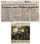 Zeitungsausschnitt aus der Oldenburgischen Volkszeit vom 26.Oktober 2008
